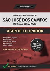 Apostila Concurso Agente Educador – Prefeitura de São José dos Campos-SP 2015