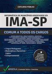 Apostila Digital IMA-SP - Comum a Todos os Cargos