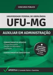 Apostila UFU-MG - Auxiliar em Administração