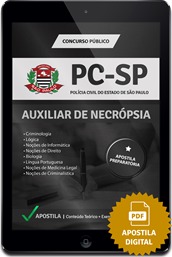 Apostila Digital PC – SP – Auxiliar de Necropsia