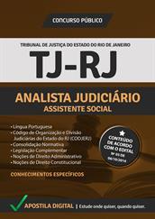 Apostila Digital TJ-RJ - Analista Judiciário - Assistente Social