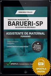 Apostila Digital Concurso Barueri 2015 – Assistente de Maternal