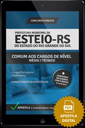 Apostila Digital Concurso Esteio – RS – Médio / Técnico