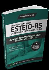 Apostila Concurso Esteio – RS – Fundamental Completo