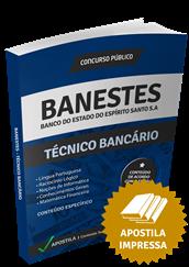 Apostila BANESTES 2015 – Técnico Bancário + Curso Online Grátis
