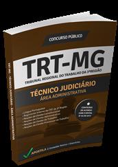 Apostila Concurso TRT - MG 2015 - Técnico Judiciário – Área Administrativa + Curso Online Grátis