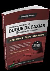 Apostila Concurso Duque de Caxias – RJ – Professor II - Áreas Integradas