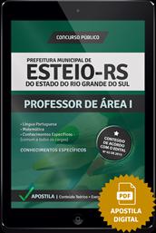 Apostila Digital Concurso Esteio – RS – Professor de Área l