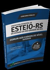Apostila Concurso Esteio – RS – Nível Superior