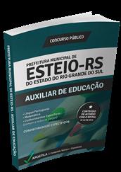 Apostila Concurso Esteio – RS – Auxiliar de Educação