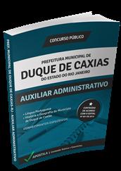 Apostila Concurso Duque de Caxias – RJ – Auxiliar Administrativo