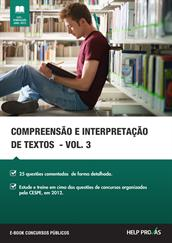 compreensao e interpretacao de textos - vol. 3