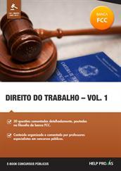 direito do trabalho - vol. 1