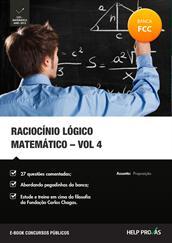 raciocinio logico matematico - vol. 4